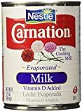 Nestle Carnation Evaporated Milk, 1 Can of 12 Oz (354 ml)