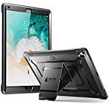 SUPCASE iPad Pro 12.9 2017 case, [Heavy Duty] [With Built-in Screen Protector] Unicorn Beetle PRO Series Full-body Rugged Protective Case for Apple iPad Pro 12.9 inch 2017, Not Fit 2018 Version(Black)