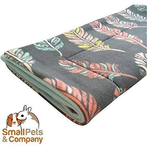 Guinea Pig Fleece Cage Liner for Midwest Habitat   Guinea Pig Bedding   Guinea Pig Fleece   Feathers
