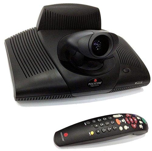 Polycom ViewStation PVS-14XX Video Conferencing Webcam w/ Power Adapter & Remote