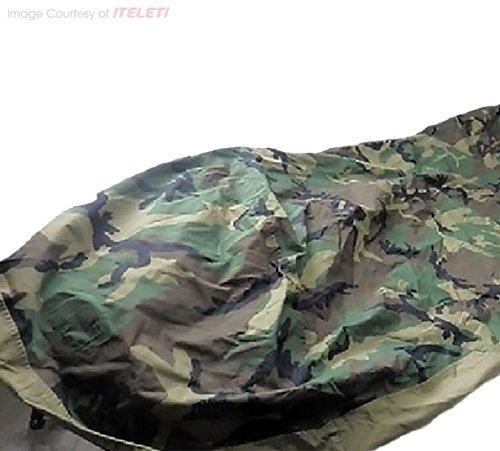 Tennier Woodland Camouflage Waterproof Bivy Cover