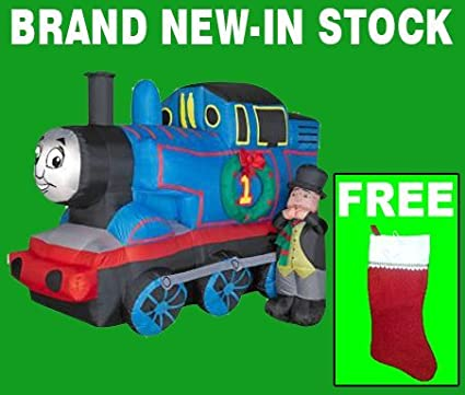 Christmas Inflatable Yard Decorations Airn 5 Ft Thomas The Train Outdoor