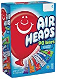 Airheads Candy Bars, Variety Halloween Bulk Box, Chewy Full Size Fruit Taffy, Back to School for Kids, Non Melting, Party 90 Count (Packaging May Vary)