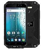 "Oukitel K10000 Max Waterproof Shockproof Smartphone MTK6753 3G+32G 16MP 10000mAh Battery 5.5"" FHD Dual SIM Mobile Phone (Black)"