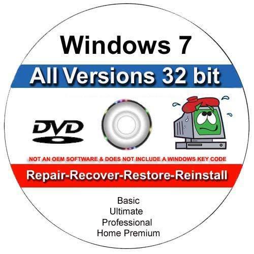 Windows 7 All-in-One All Versions 32/64-Bit Repair, Reinstall