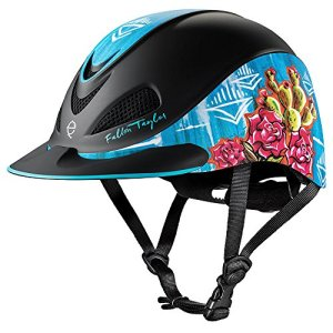 TROXEL Performance Headgear Troxel Fallon Taylor Vintage Cactus Horse Riding Helmet XS