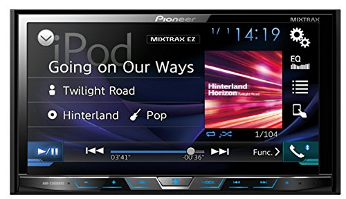 Pioneer AVHX5800BHS 2-DIN Receiver with 7.0' Display/Built-In Bluetooth/Siri Eyes Free/AppRadio One/HD Radio