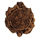 Dryad Design Small Faerie Pentacle Wall Plaque Wood Finish
