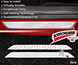 Auto Rover for Tesla Model 3 Door Sill Protector, Door Sills Wrap Kit Protection - Clear