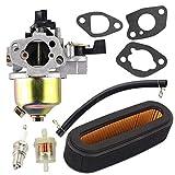 GXV160 Carburetor for Honda GXV120 GXV140 HR194 HR195 HR214 HR215 HR216 HRA214 HRA216 HRC216 Lawn Mower Replace 16100-ZE6-W01