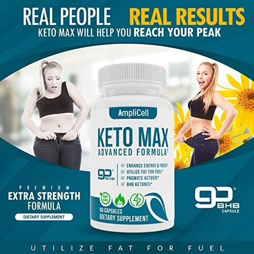 Keto Diet Pills - Utilize Fat for Energy with Ketosis - Boost Energy & Focus, Support Metabolism, Manage Cravings - Keto MAX Supplement for Women and Men - 30 Day Supply… 5