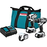 Makita CT322W 18V LXT Lithium-Ion Compact Cordless 3-Pc. Combo Kit
