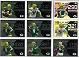 2008 Topps Chrome Football Brett Favre Flight to 420 Insert Lot Of 34 Cards With 2 Refractors