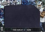 2018 Panini Black Friday #TG Todd Gurley II Los Angeles Rams Used Relic Jersey PATCH 3/5 NFL Football Trading Card