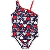 OP Heart American Patriotic Sweetie Toddler Little Girls One Piece Swimsuit (2T)