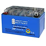 Mighty Max Battery YTX7A-BS Gel 12V 6AH Battery for Yamaha YJ125T Vino 125CC (2004-2009) Brand Product