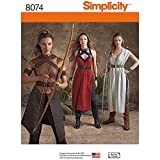 Simplicity Patterns Misses' Warrior Costumes Size: R5 (14-16-18-20-22), 8074