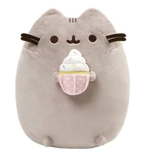 GUND Pusheen Snackables Sprinkled Cupcake Plush Stuffed Cat, 9.5″ 51O9mO7E cL