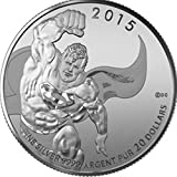 2015 CA Royal Canadian Mint Superman 20 for 20 $20 Brilliant Uncirculated