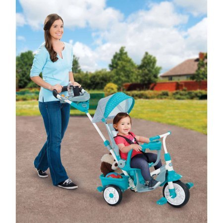 Perfect Fit 4-in-1 Trike, Teal 46.00 x 18.50 x 36.00 Inches