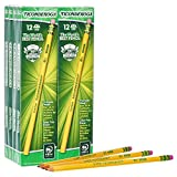 Ticonderoga Wood-Cased Graphite Pencils, #2 HB Soft, Yellow, 96 Count (13872)