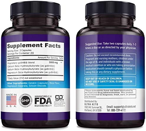 Best Keto Diet Pills - Utilize Fat for Energy with Ketosis - Boost Energy & Focus, Manage Cravings, Support Metabolism - Keto BHB Supplement for Women and Men - 30 Day Supply 9