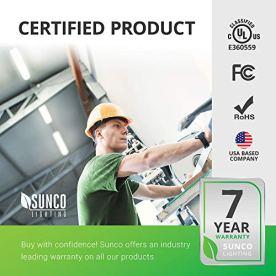 Sunco-Lighting-6-Pack-Wraparound-LED-Shop-Light-4-FT-Linkable-40W300W-3500-LM-6000K-Daylight-Deluxe-Integrated-LED-Direct-Wire-Flush-Mount-Fixture-Utility-Light-Garage-ETL-Energy-Star