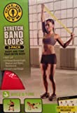 Gold's Gym Stretch Band Loops