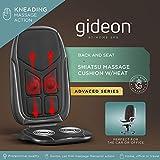 Gideon GD-MSG-CS2 Luxury Six-Program Customizable Massaging...