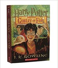 Goblet of Fire original cover