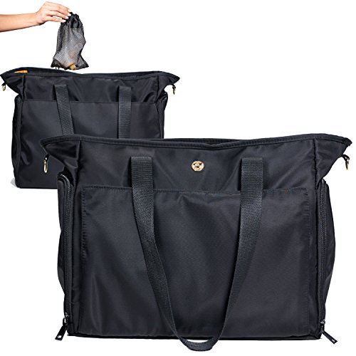 Zohzo Lauren Breast Pump Bag - Portable Tote Bag Great for Travel or Storage – Includes Padded Laptop Sleeve - Fits Most Major Pumps Including Medela and Spectra... 19 Fashion Online Shop gifts for her gifts for him womens full figure