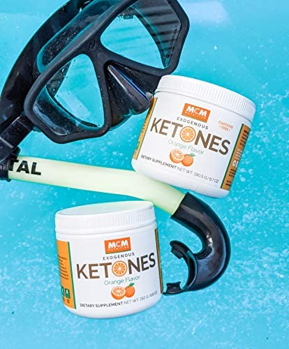MCM Nutrition - Exogenous Ketones Supplement & BHB - Caffeine Free and Suppresses Appetite - Instant Keto Mix That Puts You into Ketosis Quick & Boosts The Keto Diet (Orange Flavor - 15 Servings) 10
