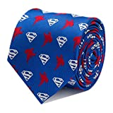 CUFFLINKS INC Superman Blue Tie (Blue)