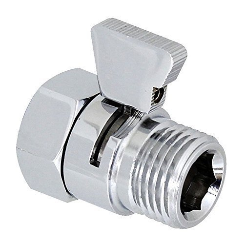 Homeself Brass Shower Head Flow Contol And Shut Off Stop Switch Valve For Shower Head Hand Shower Or Bidet Sprayer Etc Universal Replacement Part Trusted E Blogs