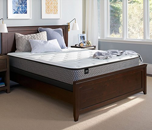 Sealy Response Essentials 11-Inch Cushion Firm Tight Top Mattress, Queen, Made in USA, 10 Year Warranty