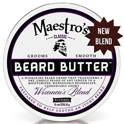 Maestro's Classic Beard Butter Wisemen's Blend