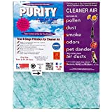 Purity Air Filter with Activated Carbon for Air Returns, Registers and Vents - Trim-to-Fit up to 20x25x1 - (Pack of 4) - Fit's custom sizes - Reduces dust, pollen, pet dander, smoke, and odors, VOC's