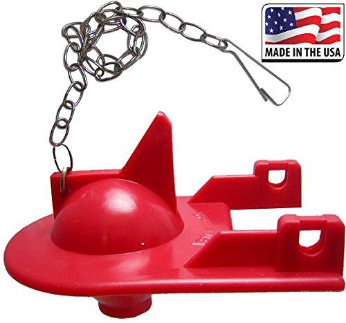 FlushLine Toilet Flapper for Kohler Shark Top GP84138, 84313, 85655, 89825, 2-inch Toilet Flapper