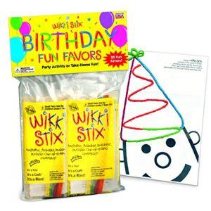 WikkiStix Birthday Fun Favors, Pack of 20 Molding & Sculpting Sticks 51Of76E5v2L