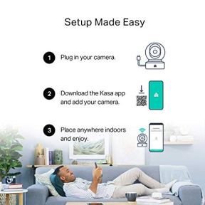 Kasa-Smart-Indoor-PanTilt-Home-Camera-1080p-HD-Security-Camera-wireless-24GHz-with-Night-Vision-Motion-Detection-for-Baby-Monitor-Cloud-SD-Card-Storage-Works-with-Alexa-Google-Home-EC70