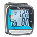 Care Touch Automatic Wrist Blood Pressure Cuff Monitor - Classic Edition - Fast Accurate Readings and  Approved, Batteries and Case Included