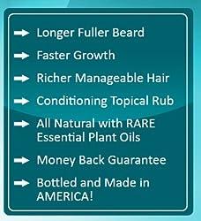 Beard Farmer - Growther XT Beard Oil (Extra Fast Beard Growth) All Natural Beard Growth Oil  Image 3