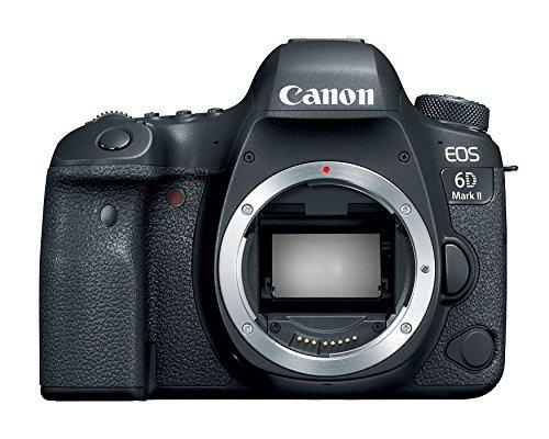 Canon EOS 6D Mark II Digital SLR Camera Body - Wi-Fi Enabled