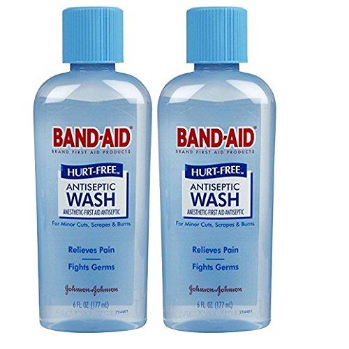 Band-Aid Hurt Free Antiseptic Wash