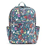 Vera Bradley Women's Lighten Up Grand Backpack, Polyester, Superbloom Sket