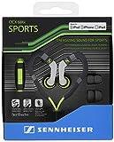 Sennheiser OCX 686i Sports in-Ear Headphones - Green/Grey