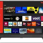 Telefunken 80 cm (32 Inches) HD Ready Smart LED TV TFK32S (Black) (2019 Model) |With Built-in Soundbar