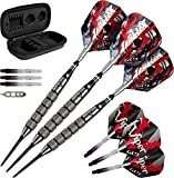 Viper Blitz 95% Tungsten Steel Tip Darts with Storage/Travel Case, 28 Grams