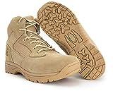 6' Ryno Gear Tactical Combat Boots (Beige) (8) Wide