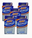 Cutter Advanced Insect Repellent Fragrance Free Wipes 6x7', 3 Count (Pack of 5)